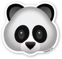 Panda Face | Emoji Stickers