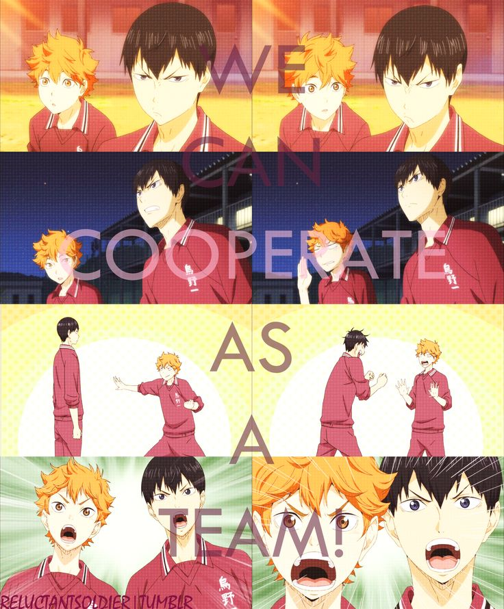 Haikyuu!! Episode 2: We can cooperate as a team! by Chari-gray.deviantart.com on @deviantART