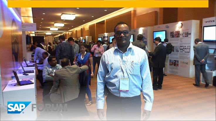 Our Founder and CEO Mr.Anand Radhakrishnan @anand_rkrishnan was much delighted to attend this global event SAPB1.