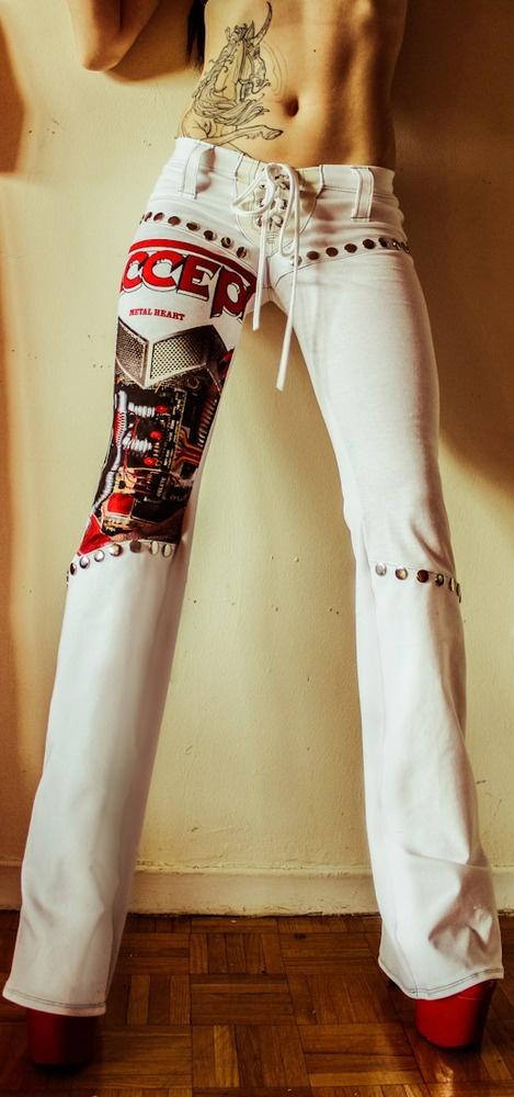 TOXIC VISION Accept pantsFᴀsʜɪᴏɴ Cʟɪᴋ, Vision Accepted, Toxic Jeans, Maria Style, Accepted Pants, Toxic Vision, Pants Suits Not, Vision Clothing, Rocker Style