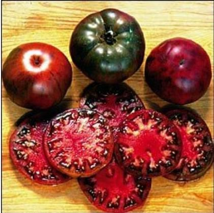 Black Krim Tomato 200 Seeds - Russian Heirloom High Germination rate fruit vegetable seeds Garden PLANT Free Shipping