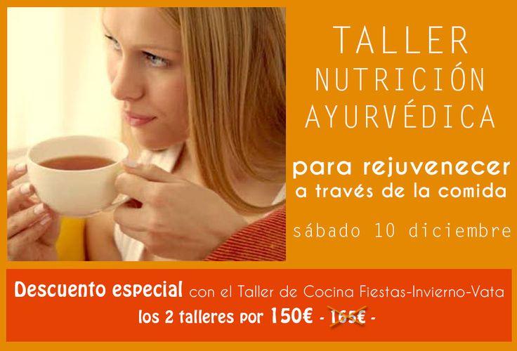 NUTRICIÓN PARA REJUVENECER #tallernutricionayurveda