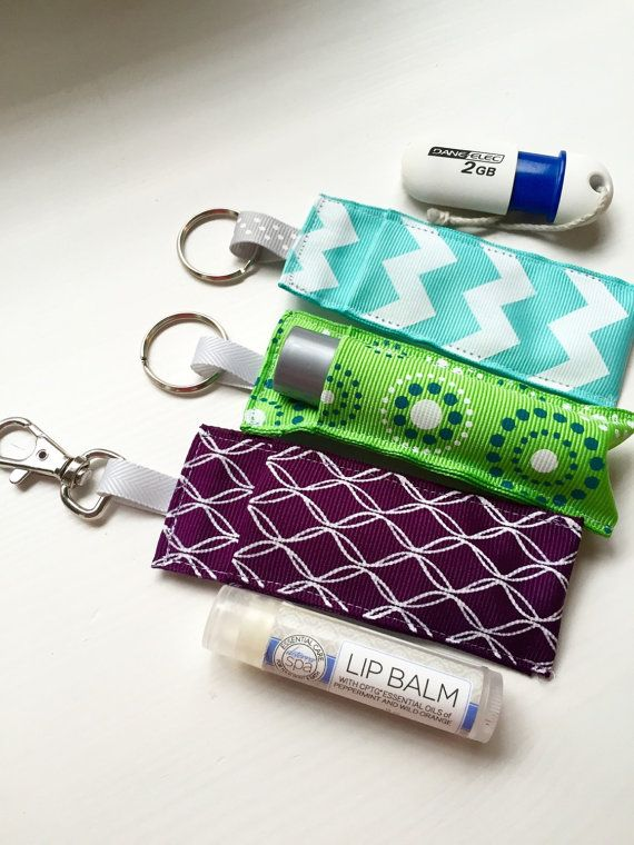 Roller Bottle Key Chain Carry Case Essential Oil by LilyLovesRemi