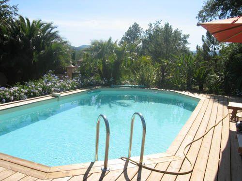 17 meilleures id es propos de piscine semi enterree sur for Piscine octogonale semi enterree