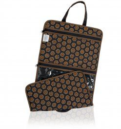 The Cina b Hanging Cosmetic Bag - so pretty and Made in the USA!