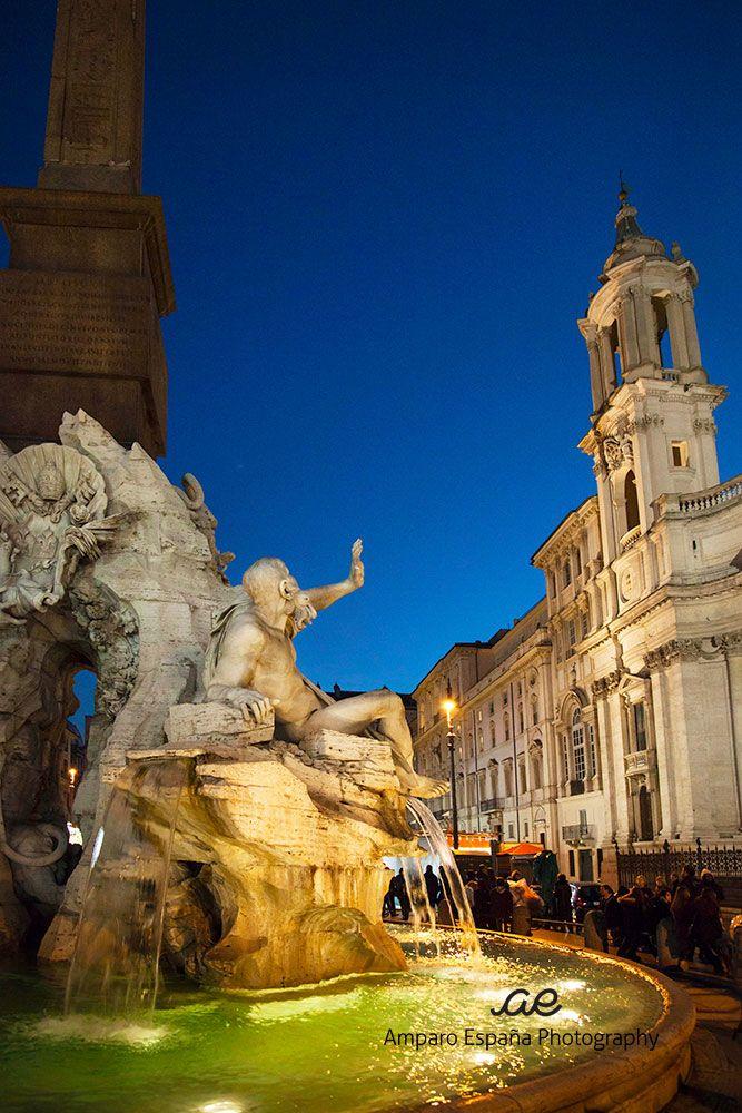 Piazza Navona, Roma, Italia. www.amparoespanaphotography.blogspot.com