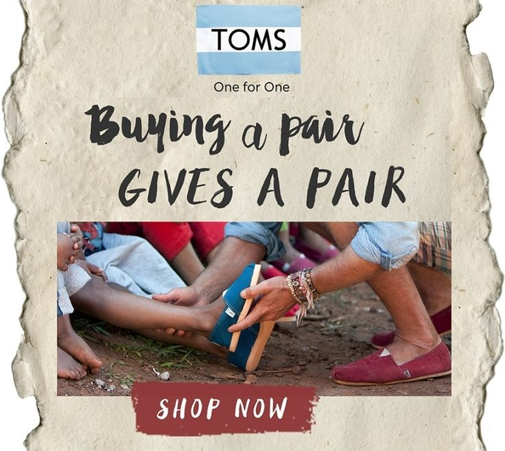 Win with TOMS One for One Campaign!