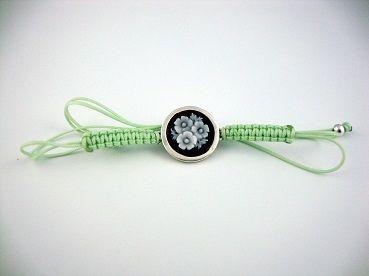 light green bracelet