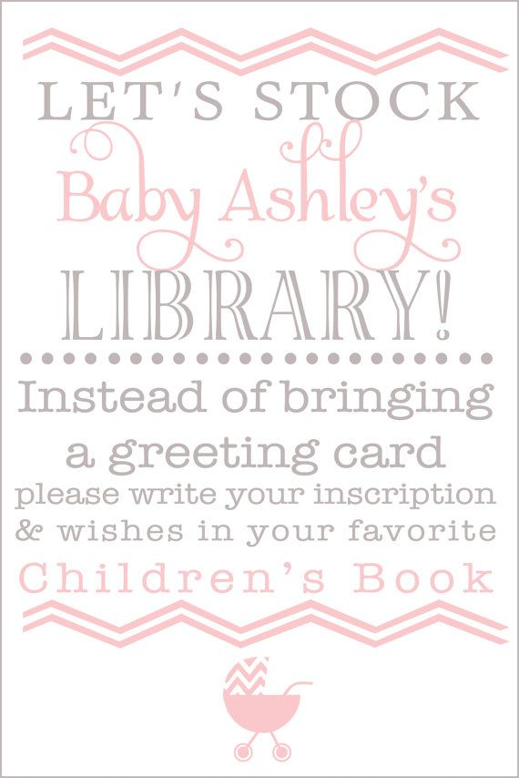 baby shower book instead of card on pinterest pink baby showers