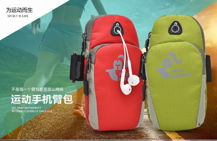 Lightweight Waterproof Nylon Fitness Men Women Outdoor Sports Equipment Jogging Running Bag Run Arms Package Running Accessories