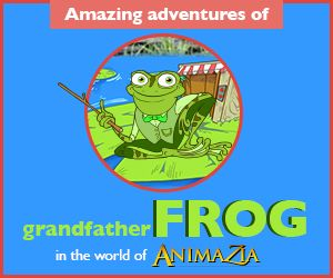 GrandfatherFrog.com Stories, Fun and Educational Videos for kids. Teach children about Environment. Part of the world of Animazia.com