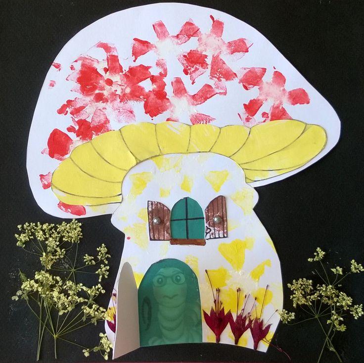 Défi maison fleurie maison champignon (2)