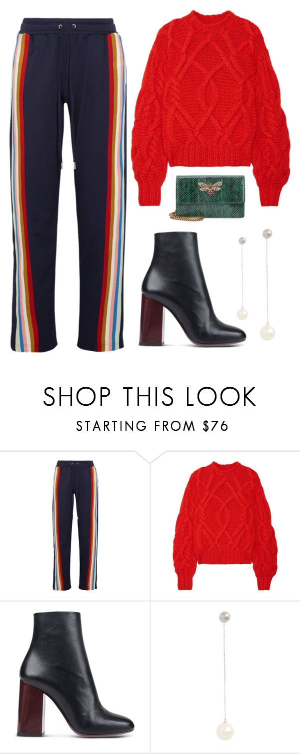 """""""#188"""" by minia001 ❤ liked on Polyvore featuring AlexaChung, Ulla Johnson, Paul Smith, Marc Jacobs and Gucci"""
