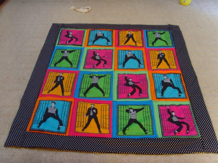 17 Best Images About Elvis Quilts On Pinterest Perler Bead Patterns Quilt And Light