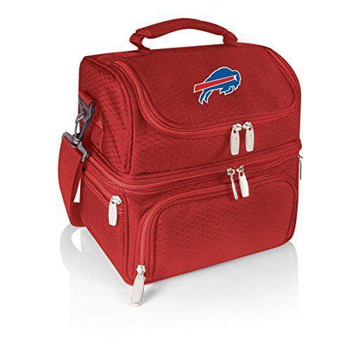 NFL Buffalo Bills Pranzo Insulated Lunch Tote, Red, 12 x 11 x 8-Inch by Picnic Time. NFL Buffalo Bills Pranzo Insulated Lunch Tote, Red, 12 x 11 x 8-Inch. 12 x 11 x 8-Inch.