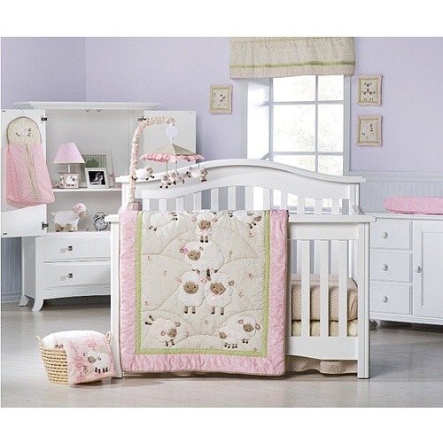 sweet dreams 4pcs bedding set from babies 39 r 39 us nursery themes baby crib bedding sets baby. Black Bedroom Furniture Sets. Home Design Ideas
