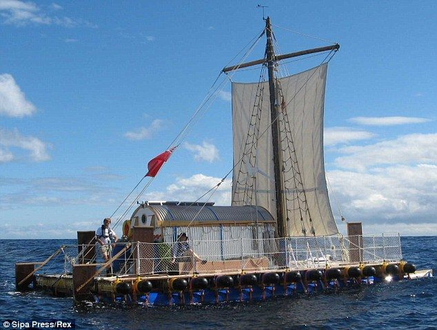 Across the Atlantic - in a garden shed: Most 84-year-olds would settle for a Saga cruise. But this ancient mariner had other ideas...