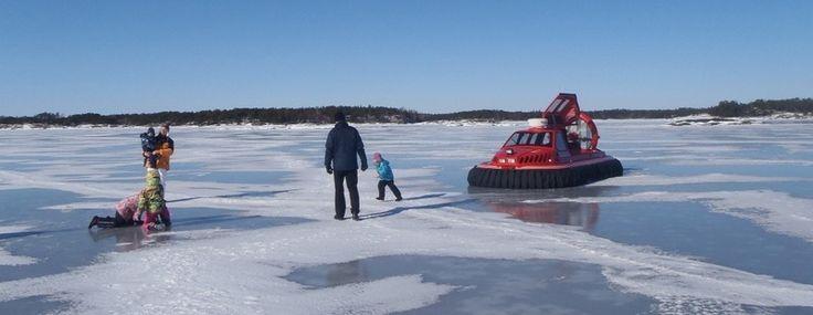 Ilmatyynysafarit Tammisaaren saaristossa | Visit South Coast Finland #Finland