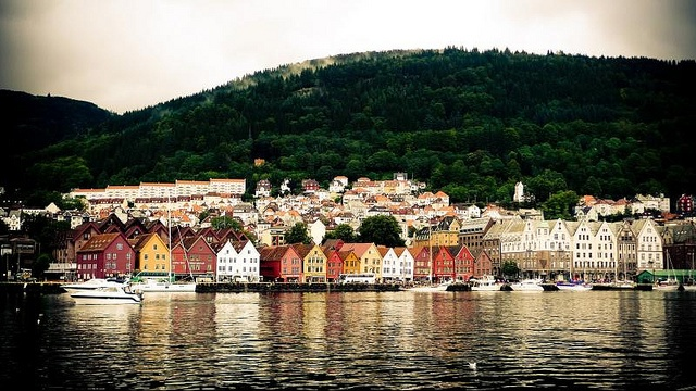 Bergen, antiguo puerto pesquero - Noruega