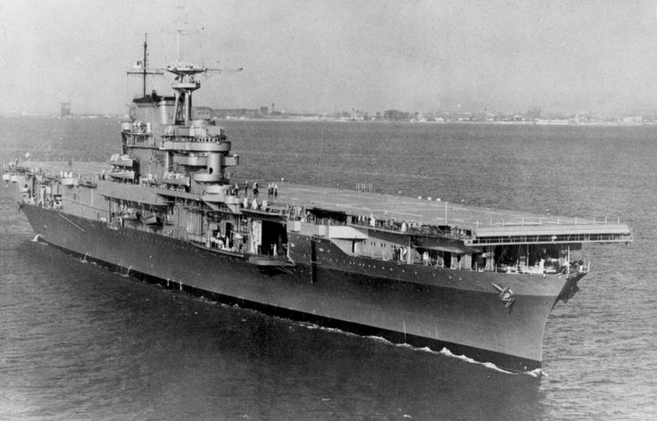 USS Hornet CV-8 - Yorktown class Aircraft Carrier (USA)