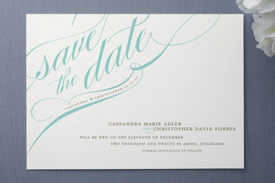 Save the Date (text)