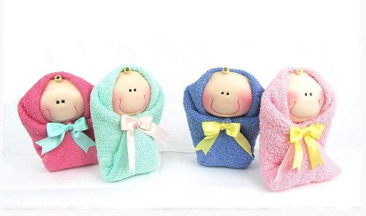Bebés De Toalla Baby Shower Recuerdo Economicos Mamá Bautizo (Baby ...
