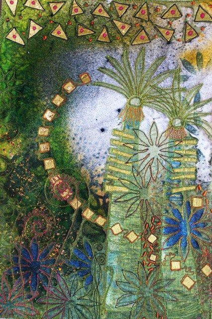 """Энджи Хьюз – ещё один источник для """"текстильного"""" вдохновения - Ярмарка Мастеров - ручная работа, handmade"""