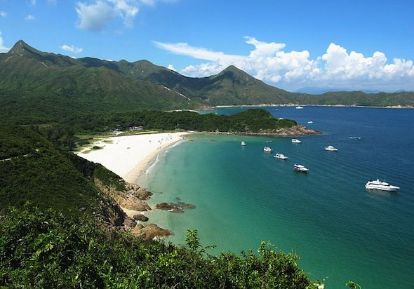 One of Hong Kong's best kept secret is this amazing white sand beach in Tai Long Wan. This beach takes some commitment to reach but you'll get this amazing view and sand after an hour long hike from Stage 2 of the MacLehose Trail.