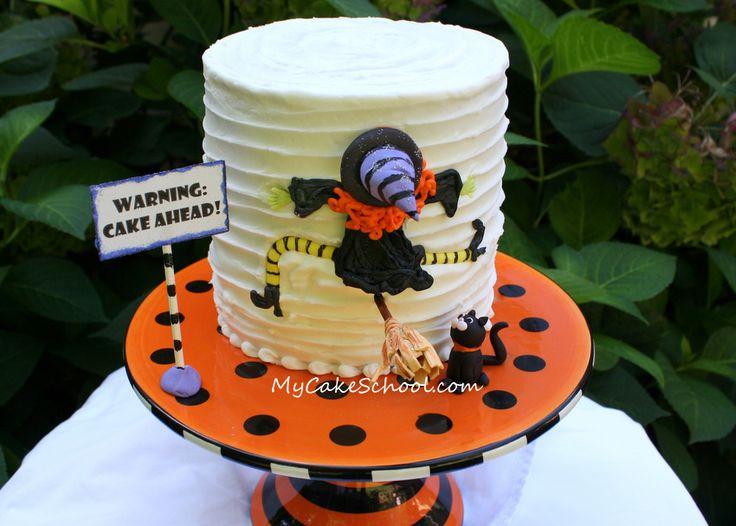 a halloween blog tutorial - Halloween Cake Decorating