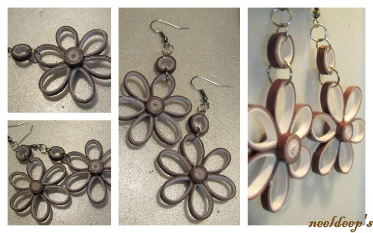 Flower Danglers.....  https://www.facebook.com/neeldeeprangoli