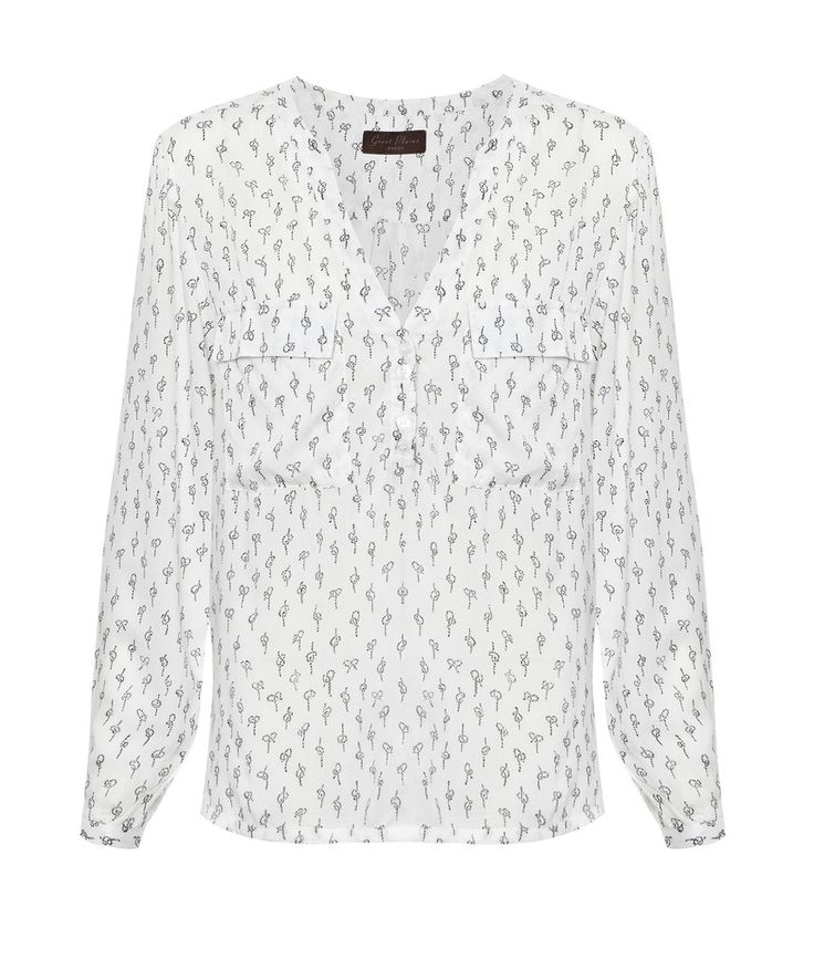 Great Plains Get Knotted Print Shirt
