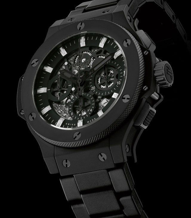 Discount Hublot All black II Replica Watches With Cheap Price