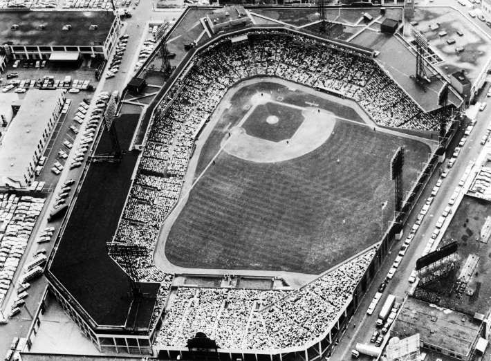 April 20,  1912: FENWAY PARK OFFICIALLY OPENS, RED SOX BEAT NY HIGHLANDERS 7-6  -    Boston's Fenway Park hosts its first professional baseball game while Navin Field (Tiger Stadium) is opened in Detroit.