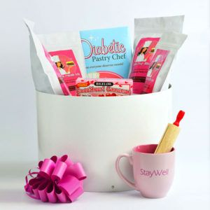 24 best images about the diabetic pastry chef sugar free deluxe diabetic gift basket negle Gallery