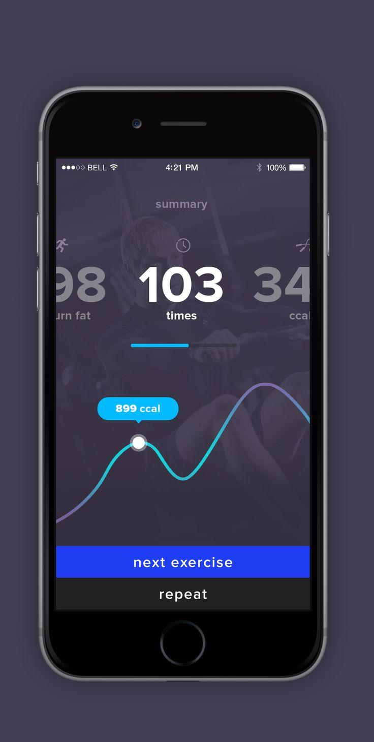 Dribbble social app ui design jpg by ramotion - For Dribbble App