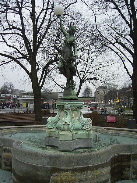 Puvogel-Brunnen in Hamburg-Wandsbek
