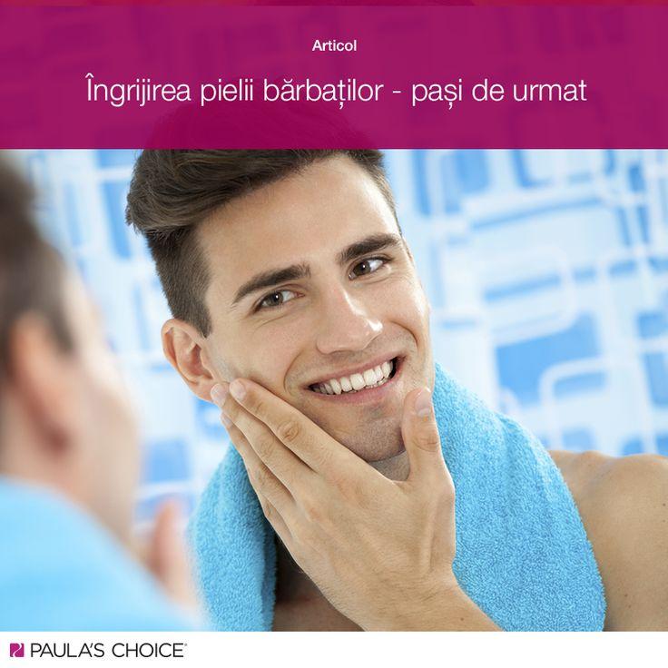 Îngrijirea pielii bărbaților, pași de urmat. #pc4men