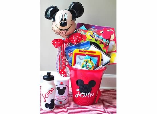 Road trip baskets - ideas for the drive down to WDW