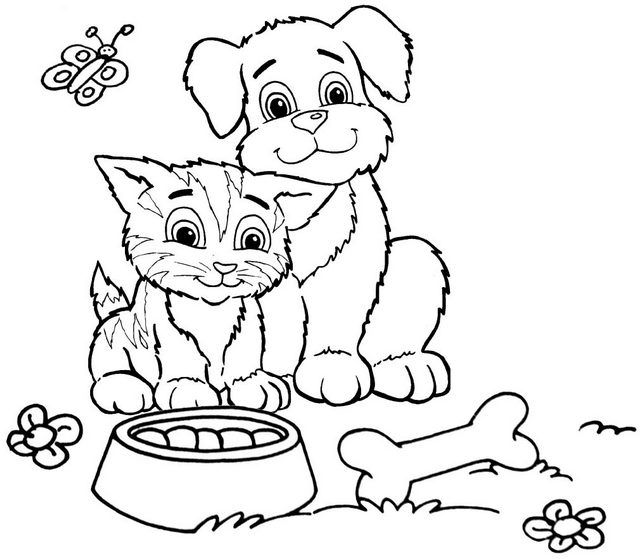 Pin By Cs Pengadaan On Cat Cat Coloring Page Dog Coloring Page Cute Cats And Dogs
