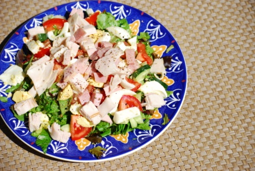 Turkey #Salad recipe. Low-carb and full of protein! | Food | Pinterest ...