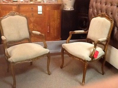 french suede chair have matching set of 4 priced each in auction ebay furniture