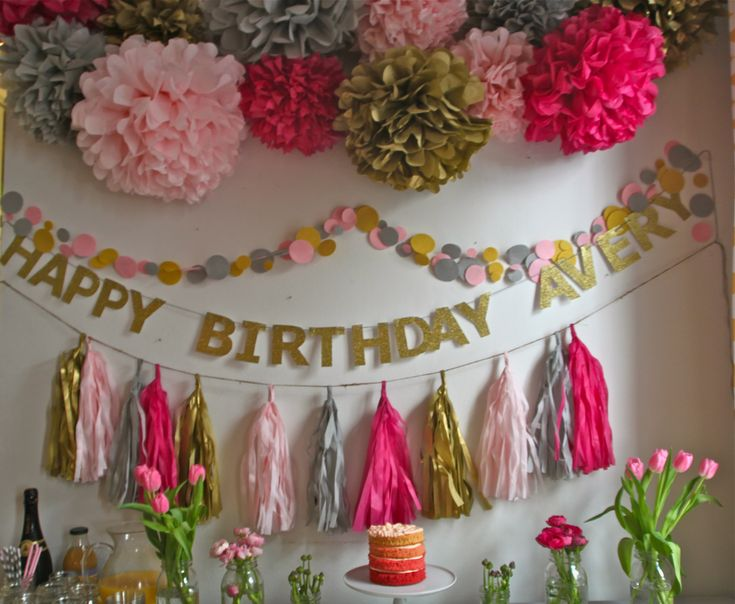 All of the details on Avery's first birthday party decorations and menu