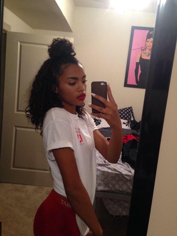 Snapchat Ogg Madieee Pinterest Goldeinee♬♡ Curly Hair