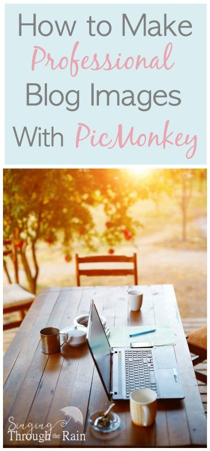 How to Create Professional Images on PicMonkey: With a visual internet, quality and professional images are what it's going to take to stand out. Check out this useful PicMonkey graphics tutorial!