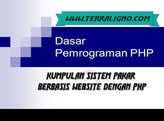Kumpulan Sistem Pakar Berbasis Website Dengan PHP