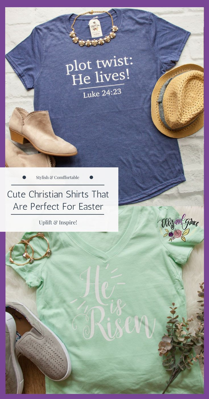 Perfect for Easter and Resurrection Sunday — Christian clothing that uplifts and inspires.