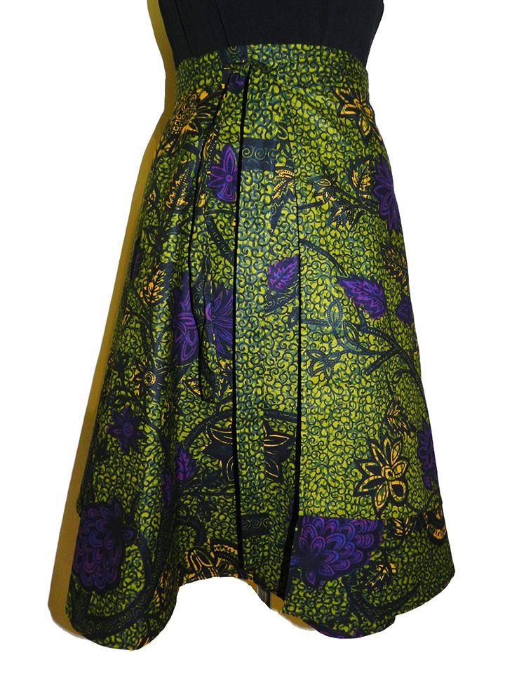 Wrap Skirt by RWENCRAFT on Etsy