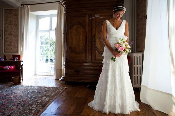 http://thisdayforward.com.au/  Photographer wedding France, dress, flowers