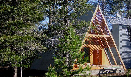A-FRAME! Cabin, 9/7/2012Tiny House Design, National Forest, Modern Cabin, Frames Cabin, Modern Aframe, A Frams Cabin, Yosemite National Park, Aframe Cabin, A Frames