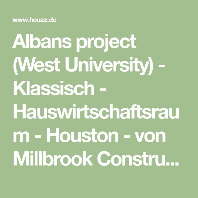 Albans project (West University) - Klassisch - Hauswirtschaftsraum - Houston - von Millbrook Construction LLC